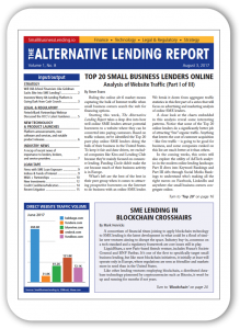 The Alternative Lending Report